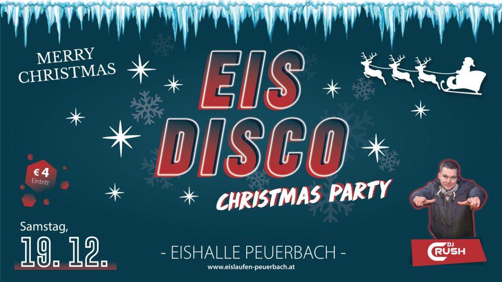 Eisdisco Dezember Eishalle Peuerbach