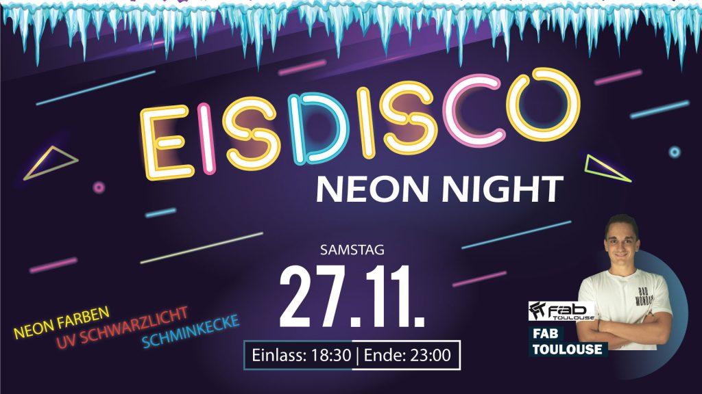 Eisdisco Peuerbach Neon Night